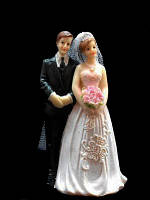 """Статуэтка на торт """"Жених и невеста"""" st 4"""