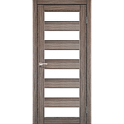Двери KORFAD PR-04 Полотно+коробка+2 к-та наличников+добор 100мм, эко-шпон, фото 2