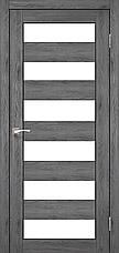 Двери KORFAD PR-04 Полотно+коробка+2 к-та наличников+добор 100мм, эко-шпон, фото 3