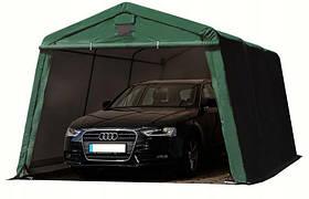 Павильон гаражный 3,3x4,8 м ПВХ 500 г/м² (Зеленый)