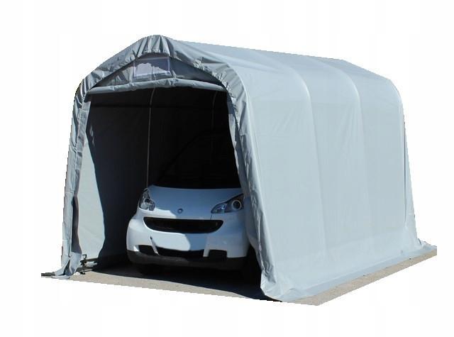 Павильон гаражный 2,4x3,6 м ПВХ 550 г/м² (Серый)