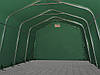 Павильон гаражный 3,3x7,2 м ПВХ 550 г/м² (Зеленый), фото 4