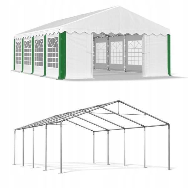 Павильон свадебный, торговый, гаражный 5x8 м PE (полиэтилен) 240 г/м²