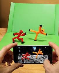Игровые фигурки Stikbot для анимационного творчества