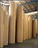Крафтовая бумага в рулоне 50 пог. метра. Плотность 100 г/м2.