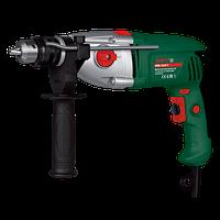 Дрель DWT SBM-1050 T двухскоростная,мощность 1050 Вт,число ударов 0-44800 мин,обороты 0-2800 мин,металл редукт