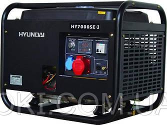 Генератор бензиновый Hyundai HY7000SE-3