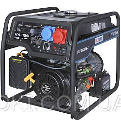 Бензиновый генератор Hyundai HHY 7020FE-T (универсальный 220/380В)