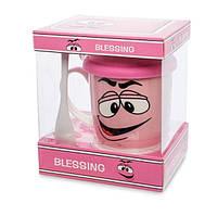 Кружка с крышкой Blessing 330 мл в подарочной коробке MUG-240/1
