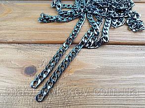 Цепочка для сумки метражная 65-018  цвет Темный никель