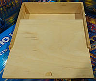 Деревянная коробка для игр Сложи узор 3х3см, Уникуб, Уголки, Кирпичики 21х21х6см, фото 1