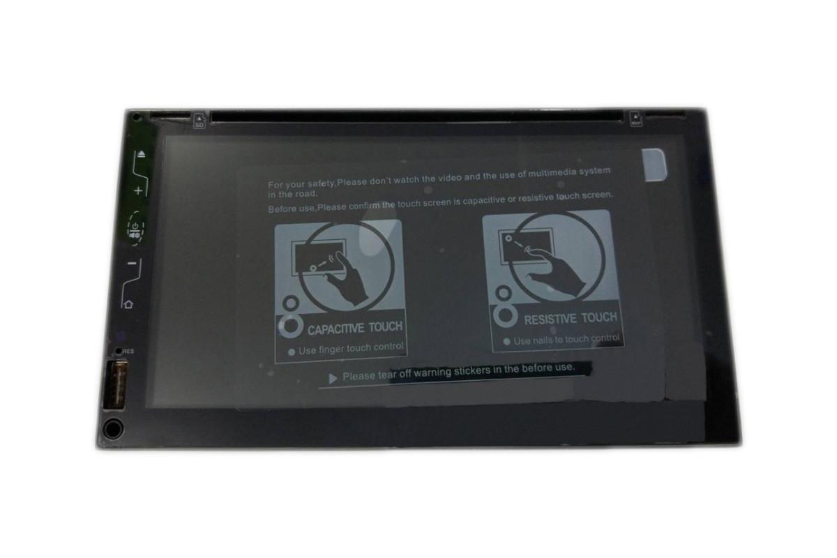 Автомагнитола 2 дин на андроиде MP3 2DIN 6309-3 Android GPS DVD + GPS + 4 Ядра