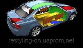 Частичная шумоизоляция автомобиля