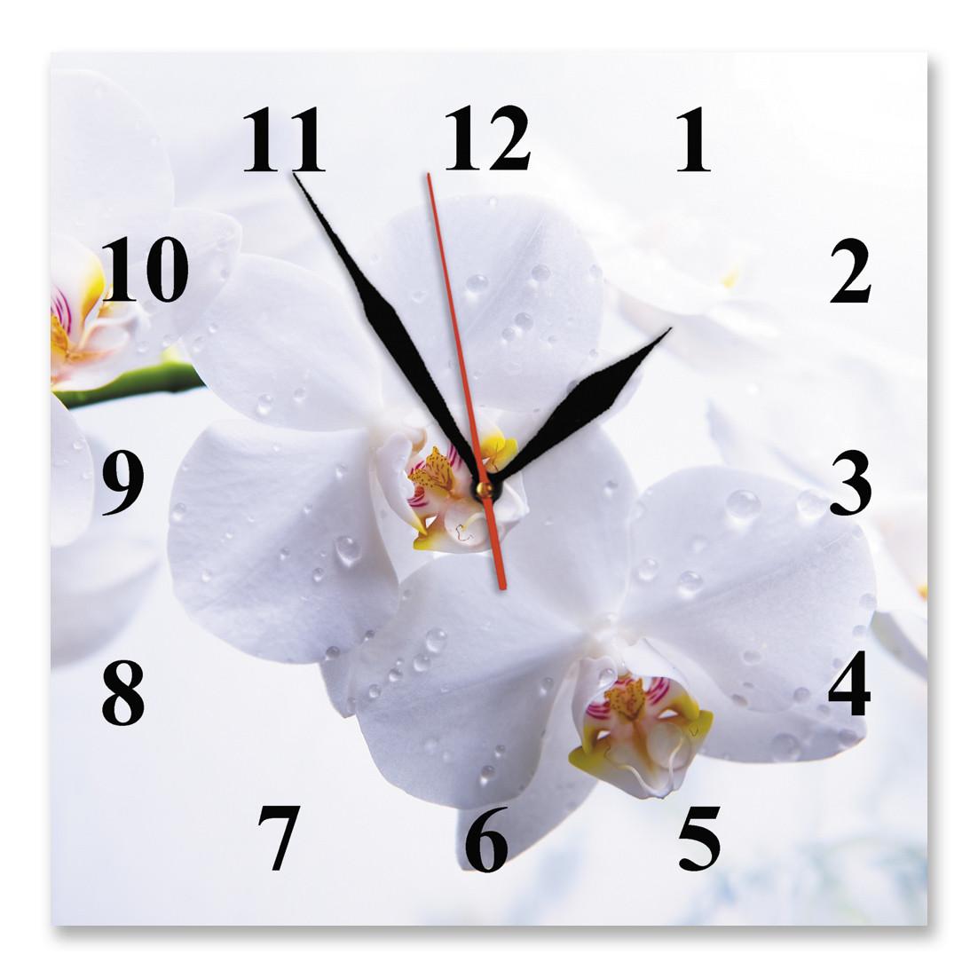 Часы настенные стеклянные Т-Ок 012 S-2502