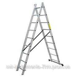 Лестница универсальная WERK LZ2110/LLA210 (2х10) (36786)