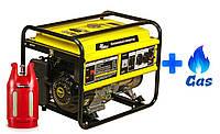 Двухтопливный генератор Кентавр КБГ 505 LPG
