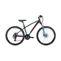 """Велосипед кросс-кантри Spelli SX-4700 26""""  (черно-красный с синим)"""
