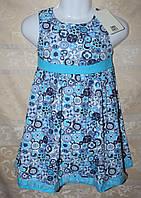 Платье летнее ZARA для девочки