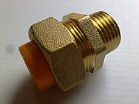 "Муфта Gofraflex GBC15 ""труба-наружн. резьба"" ГАЗ (ПАПА)"
