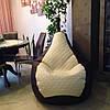 Кресло  Мешок  (Груша) Пуф  из экокожи Мадрит( Польша), фото 2