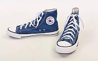 Кеды высокие Converse All Star 3480: размер 36-45, цвет синий