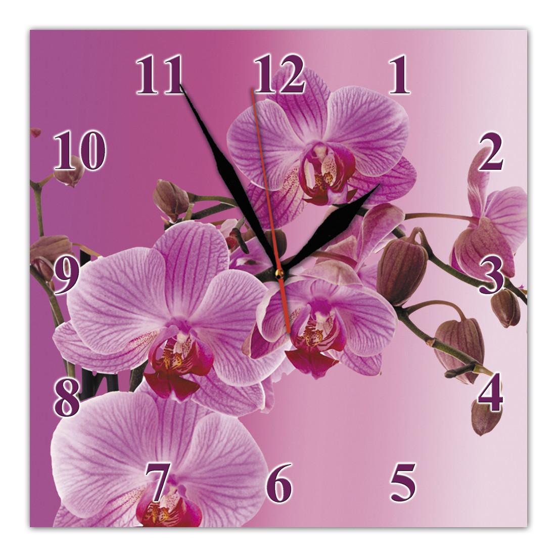 Часы настенные стеклянные Т-Ок 012 S-2501
