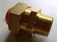 "Муфта Gofraflex GBC20 ""труба-наружн. резьба"" ГАЗ (ПАПА)"