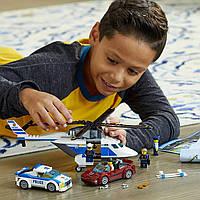 Конструктор лего сити Стремительная погоня LEGO City Police High-Speed Chase 60138 Building Toy, фото 1