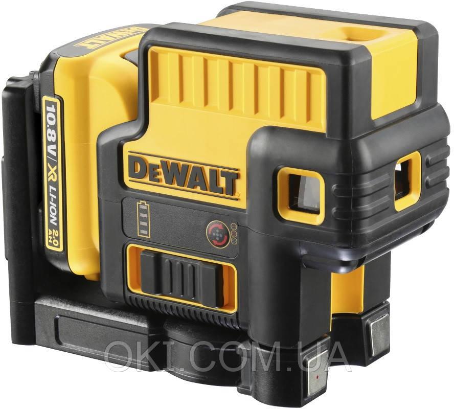 Лазер самовыравнивающийся DeWALT DCE085D1G
