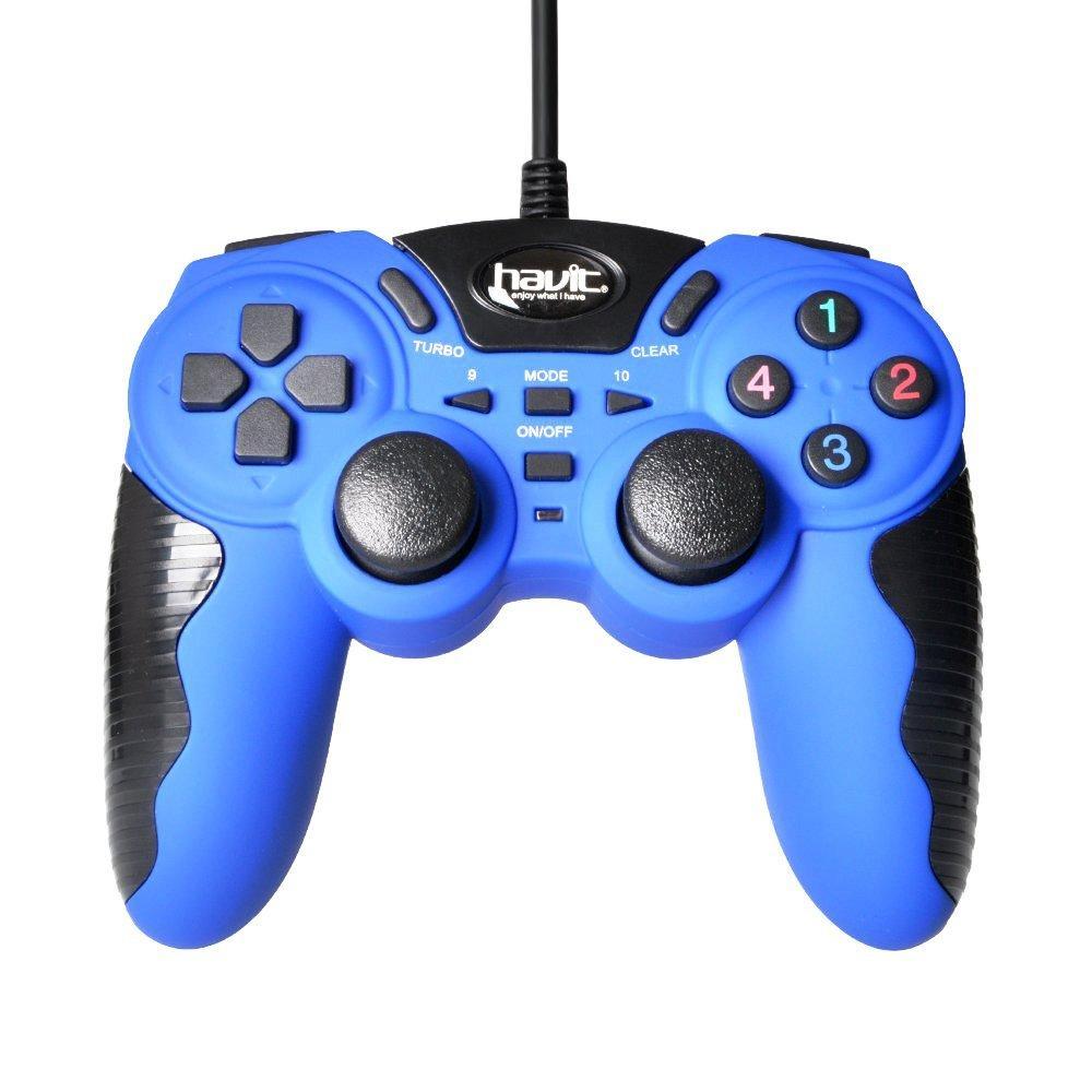 Джойстик игровой HAVIT HV-G82 blue
