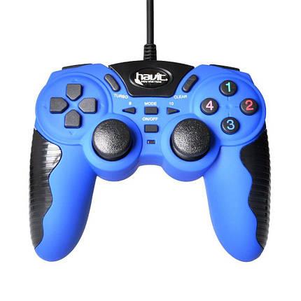 Джойстик игровой HAVIT HV-G82 blue, фото 2