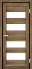 Двери KORFAD PR-07 Полотно+коробка+2 к-та наличников+добор 100мм, эко-шпон, фото 3