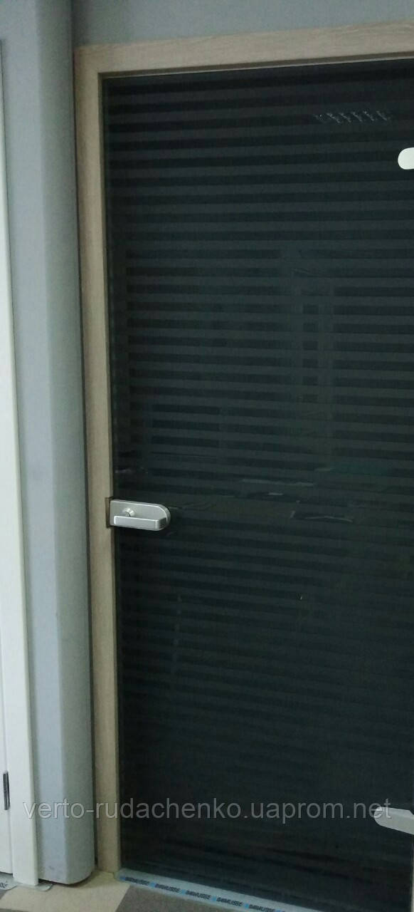 Двери Verto Гласфорд 5 триплекс черный