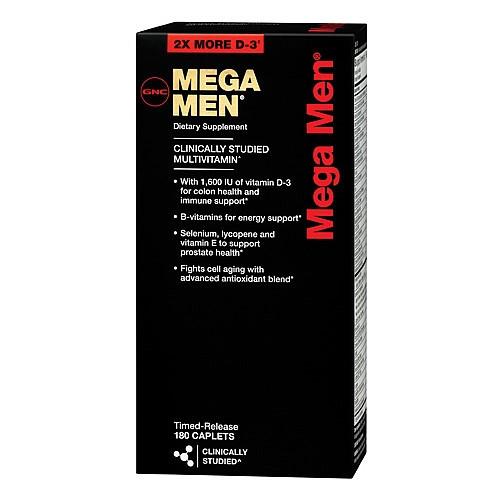 GNC Mega Men 180 caplets