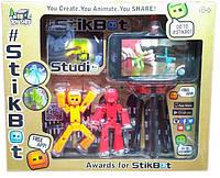 Игровой набор с подставкой Stikbot Студия для анимационного творчества, фото 1