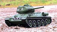 Танк Т-34 на р/у Heng Long с пневмопушкой и дымовым эффектом (HL3909-1) 1:16, фото 1