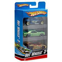 Набор машинок Hot Wheels 3 шт. в ассортименте K5904 Mattel