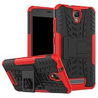 Чехол Armor Case для ZTE Blade L5 / L5 Plus Красный