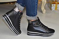 Женские ботинки на спортивной подошве в моделях. ВВ-1-0419
