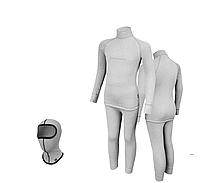 Комплект детского термобелья Radical Melange 128-134 Светло-серый