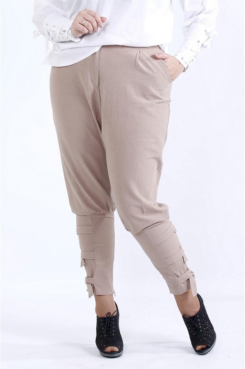 B041-2 | вільні штани Бежеві