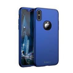 Чехол Future iPaky 360 для iPhone XS Blue (76041)