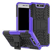 Чехол Armor Case для ZTE Blade V8 Фиолетовый