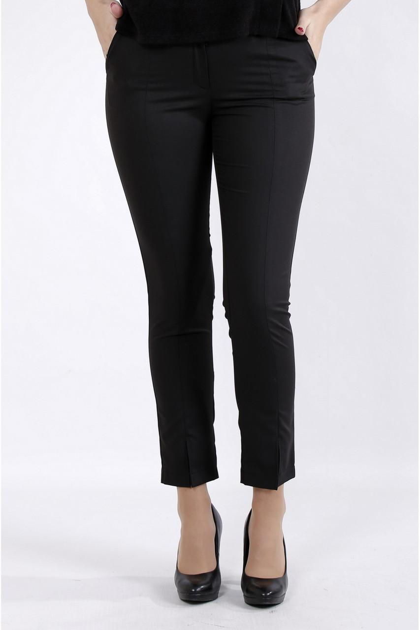 B045-1 | Черные деловые брюки большой размер