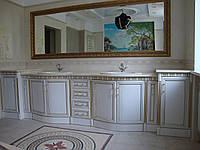 Мебель в ванную из массива.