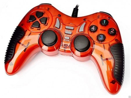 Gamepad HAVIT HV-G85 USB+PS2+PS3 red, фото 1