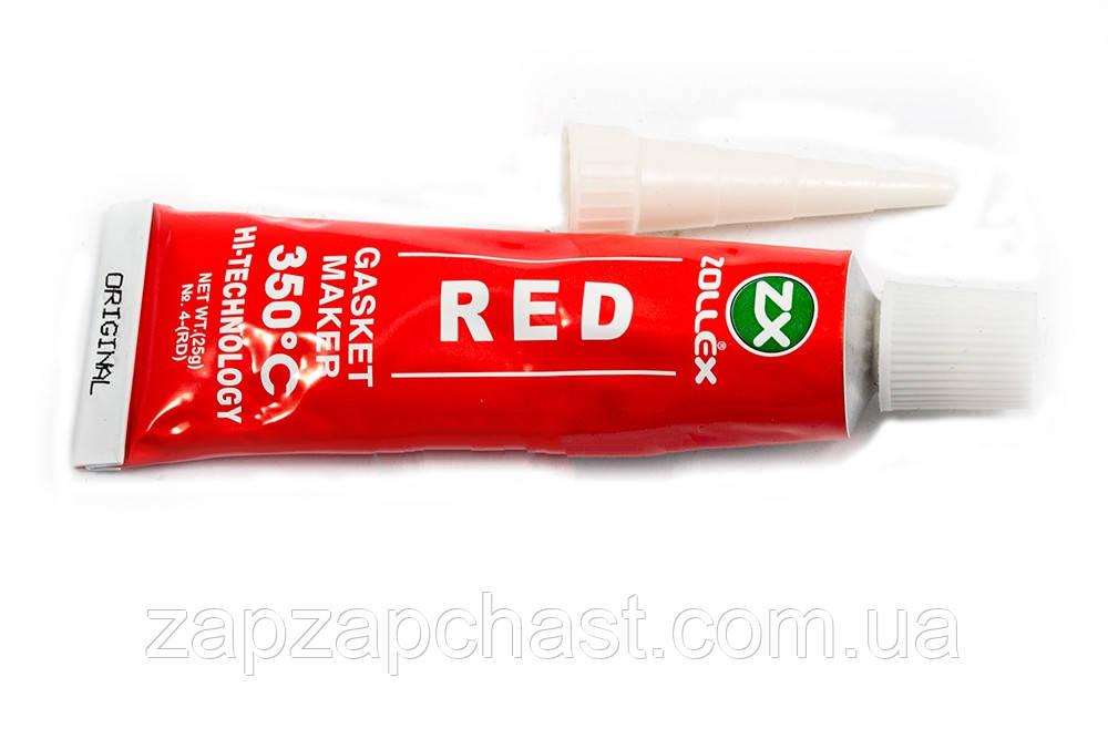 Герметик-прокладка червоний 25 гр.ZOLLEX