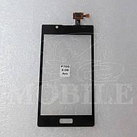 Сенсор LG P700/P705/P750 Optimus L7 black