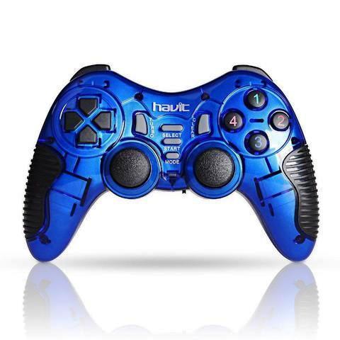 Геймпад проводной Havit HV-G89W blue