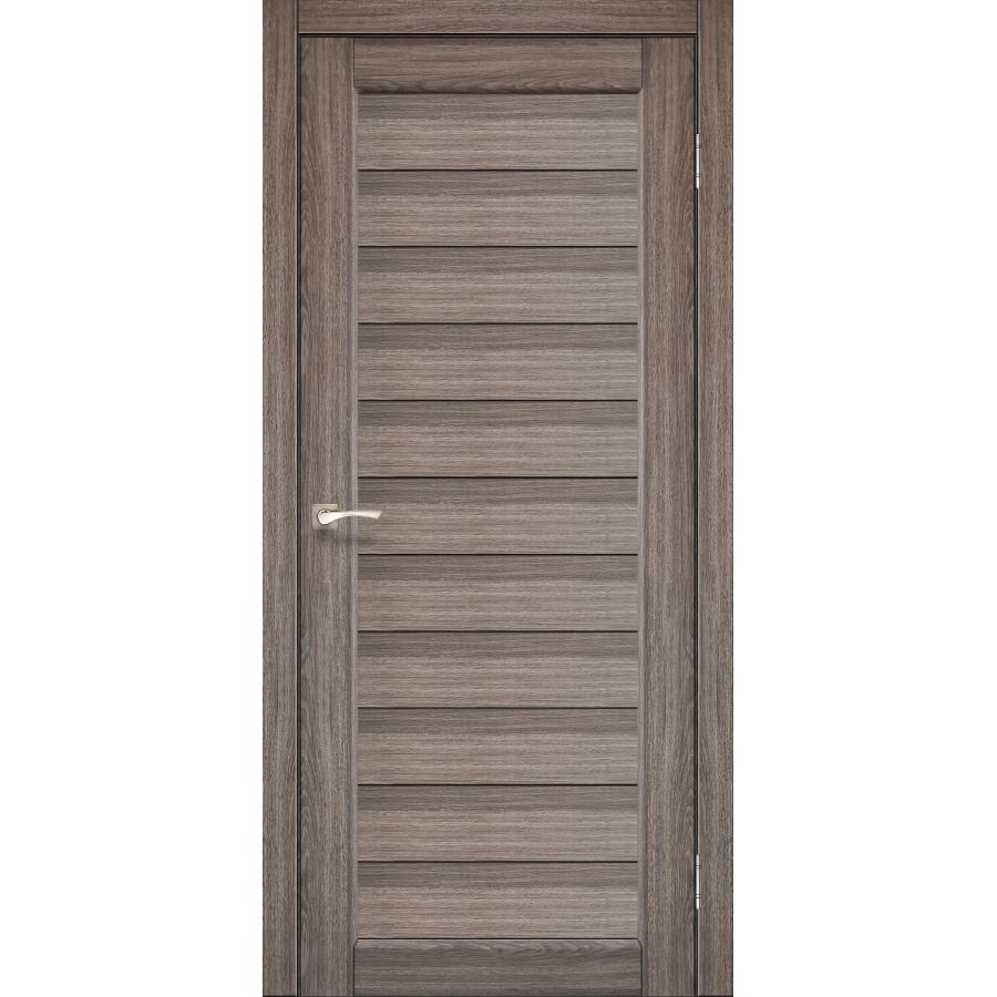 Двери KORFAD PR-13 Полотно+коробка+2 к-та наличников+добор 100мм, эко-шпон